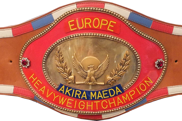Joint Promotion belt circa 1983